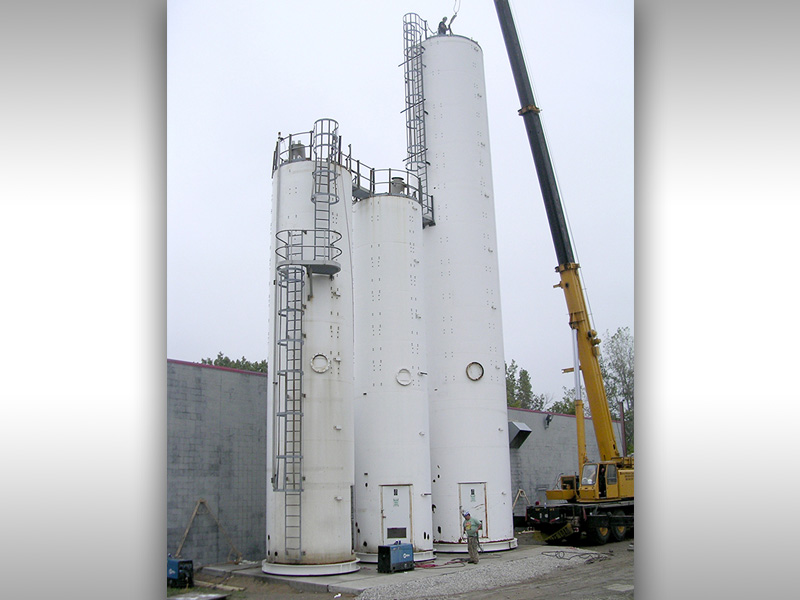 Silo Load Ring Installation